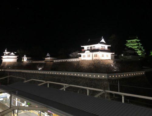7月1日から福山城のライトアップが始まります