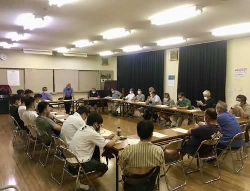 2020年田尻の未来を考える会総会開催