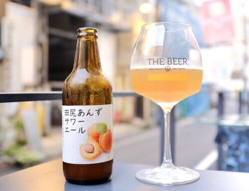 田尻のあんずを使ったビールが完成
